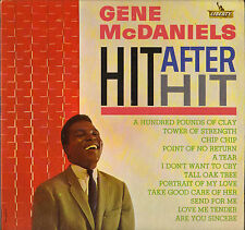 "GENE McDANIELS ""HIT AFTER HIT"" POPCORN SOUL 60'S LP LIBERTY 3258"