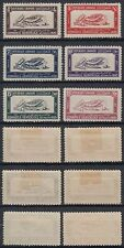 Liban Lebanon 1930 */MLH Mi. 159/164 Seidenraupenzüchter Sericulturist [st1884]
