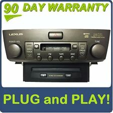 LEXUS LS430 OEM Radio Cassette Tape Player 6 Disc Changer CD Player Stereo P6814