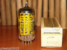 Vintage  Realistic 6GH8 A Gold Pins Black Plates Stereo Tube Japan 3550/3150