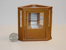 Dollhouse Miniature Corner Store Shop Display Case  1:12  one inch scale  D34