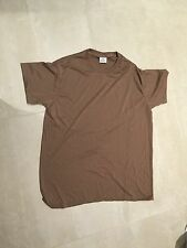 brown,US ARMY wicking  tshirt, nos,us made, XXLARGE  nsn included