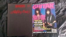 Motley Crue - Rock Legends - TAB BOOK - RARE & OOP + Bonus