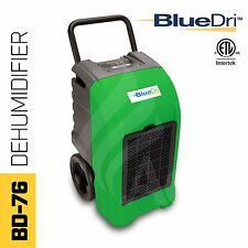 BlueDri® BD-76P ETL Certified Commercial Industrial Grade Dehumidifier Green