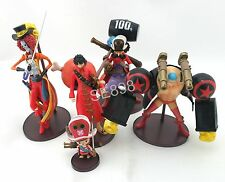 5 pcs One Piece Luffy Franky Chopper 6cm-16cm PVC Figure Set