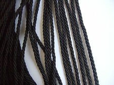 2, 4, 6, 8 Meters 3mm Twisted Soutache Braid Rope/Cord Jewelry Making