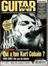 "GUITAR PART #119 ""Kurt Cobain/Nirvana"" (REVUE)"