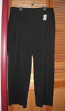Lane Bryant Wide Leg Black Trouser SZ 20 Infinite Stretch Crepe 20W 1X 2X
