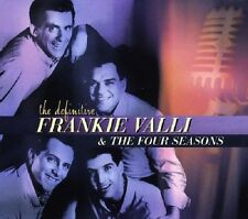 Frankie Valli & Four Seasons Definitive CD NEW SEALED Sherry/Big Girls Don't Cry