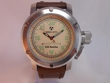 "Russian mechanical automatic watch 24 USS ""Nautilus"" first nuclear submarine."