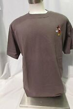 Minnie Mouse T Shirt Women's Large Short Sleeve Graphic Gray Disney