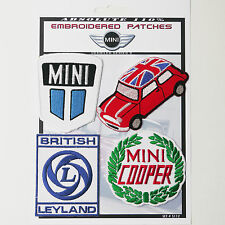 MINI COOPER LOGO CAR PATCHES Iron-On Patch Super Set #112 - FREE POSTAGE!