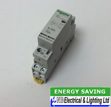 SCHNEIDER 25A CONTACTOR *24V AC COIL* N/O CONTACT 1 MODULE TO CLEAR (S151)