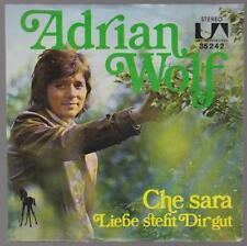 "7"" Adrian Wolf Che Sera (Coverversion) / Liebe steht Dir gut 70`s United Artists"