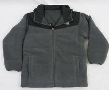 North Face Boys KIDS Reversible True Or False Jacket Graphite Grey $99 S 7/8
