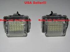 2012 2013 2014 Mercedes C250 C300 C350 C63 AMG White LED License Plate Lights