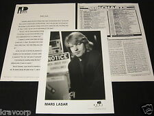 MARS LASAR 'THE ELEVENTH HOUR' 1993 PRESS KIT—PHOTO