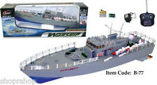"""RC Remote Control 19.5"""" NT-2877 Warship Boat NEW"""