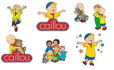 Caillou group sheet 8X10 - T Shirt Iron on transfer