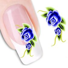 Nail Art Sticker Water Decals Transfer Stickers Flowers Floral (DX1189)