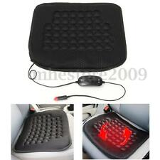12V Car Seat Heated Heater Cushion Cover Warmer Pad Mat Quick Warming Heat Black