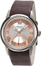 Boccia Unisex-Armbanduhr Rose Leder Titan 3531-05 UVP 129,95 NEU antiallergisch