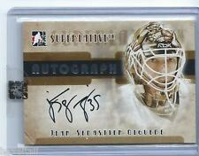 07/08 ITG Superlative Autograph - JS Giguere Silver Version - 1 of 50