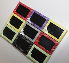 9 polka dot bow detail window display Earring/Ring Jewellery boxes, gift box