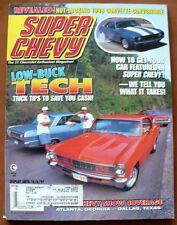 SUPER CHEVY MAGAZINE JUNE 1997,LS-1 POWERED '98 CAMARO,