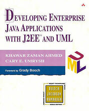 Developing Enterprise. Java Applications with J2EE and UML, Khawarzaman Ahmed, C