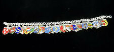 """Vintage Sterling Silver      Charms & Charm Bracelet journey through Germany 7 """""""