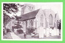 Vintage Postcard. St. Clements Church Sandwich, Kent. Pre.1918