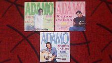 SALVATORE ADAMO **30 Años De Exitos** VERY SCARCE 1994 Spain 3-CD SET