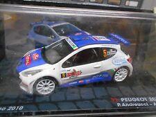 PEUGEOT 207 S2000 Rallye #5 Andreucci San Remo IXO Altaya S-Pr 1:43