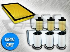 1 AIR, 3 OIL & 3 FUEL FILTERS KIT FOR 14-16 RAM 1500 3.0L TURBO DIESEL ONLY