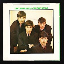 ORIGINAL VINTAGE The Beatles Made In Britain Can't Buy Me Record NEVER PLAYED