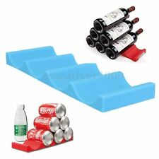 Fridge Can Beer Wine Bottle Rack Organiser Holder Mat Stacking Tidy Placed Tool
