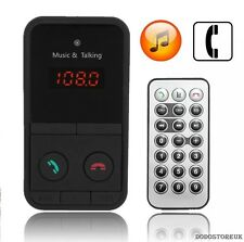 Eccellente Wireless Bluetooth Trasmettitore FM Auto MP3 PLAYER SD USB LCD + Remote C