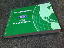 2016 FORD FOCUS ELECTRIC Electrical Wiring Diagram Manual OEM Factory
