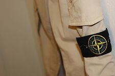 "MENS STONE ISLAND BEIGE CARGO TROUSERS  36 ""WAIST .....£65 OFF RRP!"