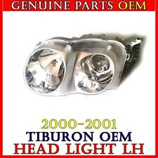 NEW OEM 2000-2001 Hyundai Tiburon Headlight Assembly LEFT Side 1PCS Genuine