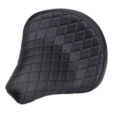 Biltwell Solo - Sitz 2 Diamond groß, schwarz, für Harley - Davidson
