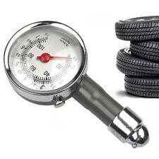 0-100 PSI Car Truck Auto Car Tyre Tire Air Pressure Gauge Dial Meter Tester KI