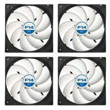 4 Pack of Arctic Cooling F14 140mm Case Fan 1300 RPM