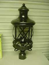 Bel Air Lighting 5123 ROB 3-Light Post Light rubbed oil bronze 5123ROB