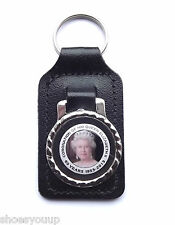 HM Queen Elizabeth II Coronation 1953 - 2013 Collectors Rectangular Keyring
