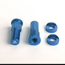 MOJO KTM Rim Lock Nuts Blue - CNC Billet Anodized Fits All KTM Dirt Bikes