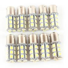 10 Pcs 12V 1156 BA15S 5050 7503 1141 18SMD LED White Car RV Trailer Light Bulb