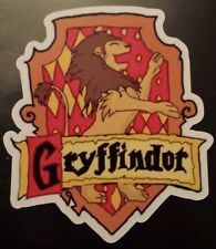 Harry potter gryffindor crest logo Sticker tablet laptop guitar suitcase 136