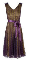 Beatiful  Jacques Vert  Spoted Dress $350-Brand New With Tag